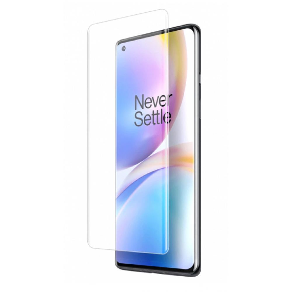 OnePlus 8pro   3D Tempered Glass Screen Protector Black