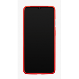 OnePlus 7t Silicone Protective Case Red