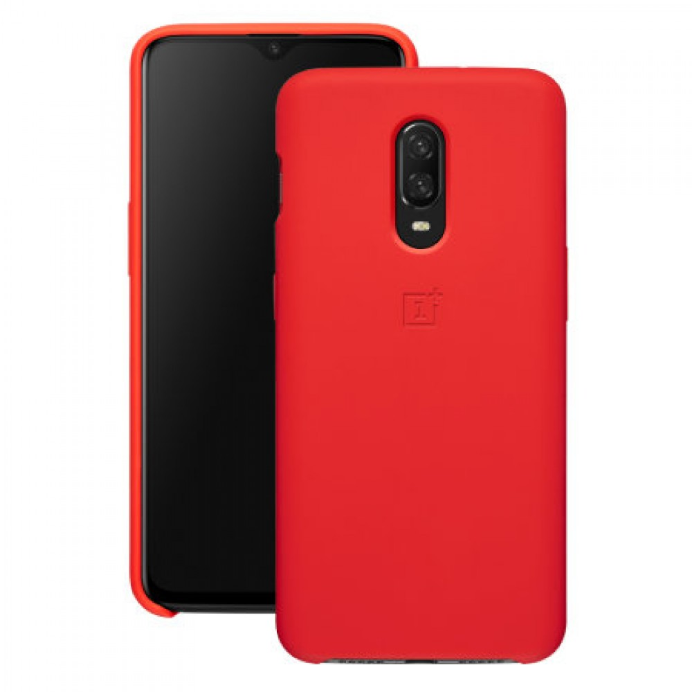 OnePlus 7 Silicone Protective Case Red