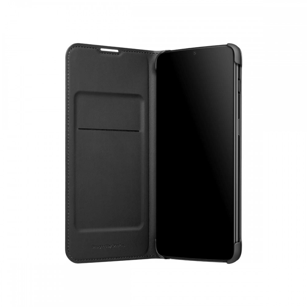 OnePlus 6T Flip Cover Black