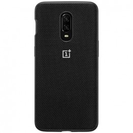 OnePlus 6T Bumper Case Nylon (Black)