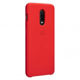 OnePlus 6T Silicone Protective Case Red