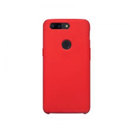 OnePlus 5T Silicone Protective Case Red